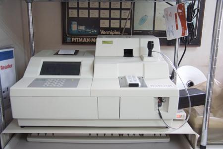 動物用生化学自動分析 装置